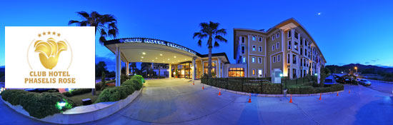 Club Hotel Phaselis Rose / Tekirova  - ANTALYA