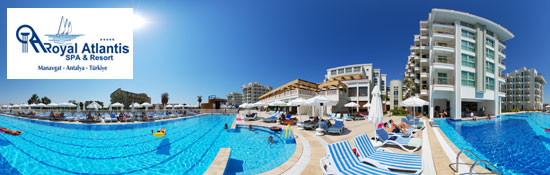 Royal Atlantis   SPA & Resort / Manavgat - ANTALYA